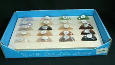 Buy Vintage Optometrist Optician Eye Doctor Glasses Tinted Lens Display