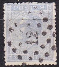Buy BELGIEN BELGIUM [1865] MiNr 0015 Db ( O/used )
