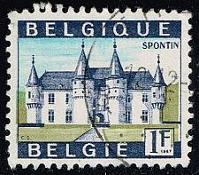 Buy Belgium #644 Castle Spontin; Used (0.25) (4Stars)  BEL0644-03XRS