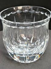 Buy Hand cut candy bowl 24% crystal Signed O'ROURKE Mouth blown hand polished