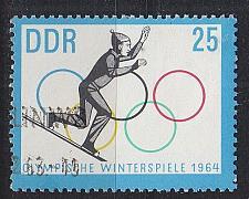 Buy GERMANY DDR [1963] MiNr 1003 ( O/used ) Olympiade