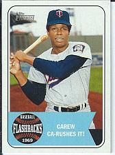 Buy Rod Carew 2018 Topps Heritage Baseball Flashbacks