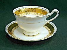 Buy Royal Albert Regency Tea Cup and Saucer Gold Gilt