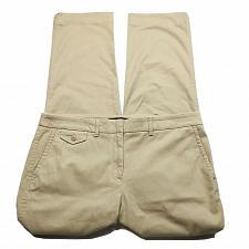 Buy NWT Talbots Womens Tapered Leg Dress Pants Size 10 Solid Tan