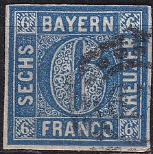 Buy GERMANY Bayern Bavaria [1862] MiNr 0010 a ( O/used ) [03]