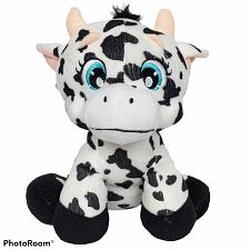 Buy Carousel Softoys Holstein Black White Cow Plush Stuffed Animal 2013 10""