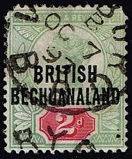 Buy Bechuanaland Prot. #34 Queen Victoria; Used (2Stars) |BEC034-01XRP