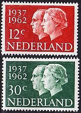 Buy NIEDERLANDE NETHERLANDS [1962] MiNr 0772-73 ( **/mnh )