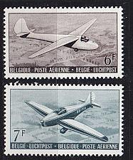 Buy BELGIEN BELGIUM [1951] MiNr 0904-05 ( */mh ) Flugzeug