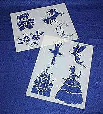 "Buy Mylar 2 Pieces of 14 Mil 8"" X 10"" Children's Stencils G- Painting /Crafts/ Templ"