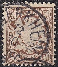 Buy GERMANY Bayern Bavaria [1881] MiNr 0052 ( O/used )