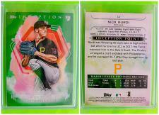 Buy MLB NICK BURDI PITTSBURGH PIRATES 2019 TOPPS INCEPTION BASEBALL RC #12 MINT
