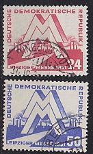 Buy GERMANY DDR [1951] MiNr 0282-83 ( OO/used ) [02]