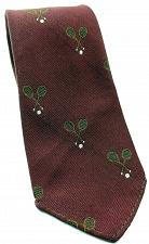 Buy Tennis Rackets Sports All Over Print Red Sports Novelty Tie