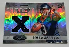 Buy NFL TOM SAVAGE HOUSTON TEXANS 2014 PANINI CERTIFIED JERSEY REFRACTOR RC /599 MNT
