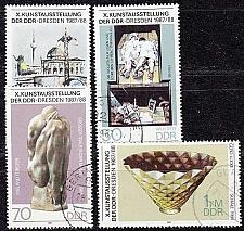 Buy GERMANY DDR [1987] MiNr 3124-27 ( OO/used )