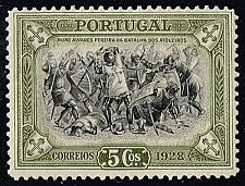 Buy Portugal #440 Battle of Atoleiros; Unused (0.25) (4Stars) |POR0440-01XRS