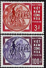 Buy VIETNAM SÜD SOUTH [1965] MiNr 0328-29 ( **/mnh )