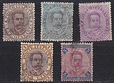 Buy ITALIEN ITALY [1889] MiNr 0050-54 ( O/used ) [01]