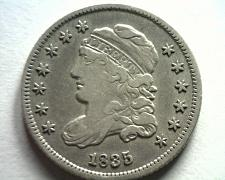 Buy 1835 BUST HALF DIME LM 8.1 EXTRA FINE+ XF+ EXTREMELY FINE+ EF+ NICE ORIGINAL