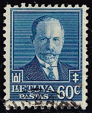 Buy Lithuania #285 Pres. Antanas Smetona; Used (3Stars)  LIT0285-01XRP