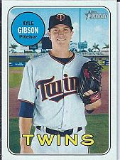 Buy Kyle Gibson 2018 Topps Heritage SP