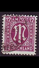 Buy GERMANY Alliiert AmBri [1945] MiNr 0023 A ( O/used )