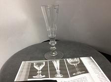 Buy Cut glass nineteenth century version of the flute glass