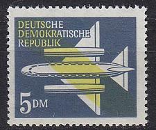 Buy GERMANY DDR [1957] MiNr 0615 ( **/mnh ) Flugzeuge