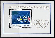 Buy GERMANY DDR [1980] MiNr 2531 Block 60 ( **/mnh ) Olympiade