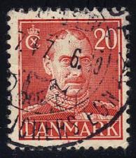 Buy Denmark #282 King Christian X; Used (2Stars) |DEN0282-03
