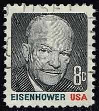 Buy US #1394 Dwight D. Eisenhower; Used (0.25) (2Stars) |USA1394-04