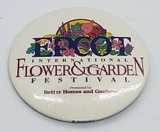 Buy WALT DISNEY EPCOT INTERNATIONAL FLOWER & GARDEN FESTIVAL 3 INCH PINBACK BUTTON