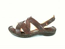 Buy BOC Born Brown Leather Slingback Open Toe Strappy Sandals Shoes Womens 7 M (SW17