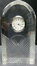 Buy Hand cut glass clock diamond pattern