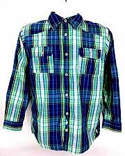 Buy English Laundry Men's Shirt 18 Casual Button Down Plaid Cotton Long Sleeve