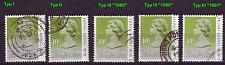 Buy HONGKONG HONG KONG [1987] MiNr 0507 ( O/used ) [03] div Typen, sehr schön