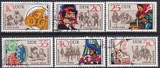 Buy GERMANY DDR [1982] MiNr 2716-21 ( OO/used ) [02] Trachten