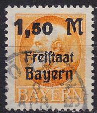 Buy GERMANY Bayern Bavaria [1919] MiNr 0175 A ( O/used ) [01]