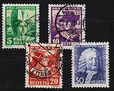 Buy SCHWEIZ SWITZERLAND [1934] MiNr 0281-84 ( O/used ) Pro Juventute