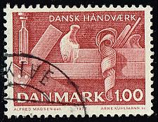 Buy Denmark #607 Danish Crafts; Used (3Stars) |DEN0607-01XBC