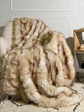 "Buy Throw Blanket Faux Fur Lounge Couch Sofa Bed Accent Piece Home Decor 58"" x 60"""