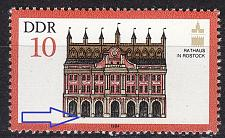 Buy GERMANY DDR [1984] MiNr 2869 F40 ( **/mnh ) [01] Architektur Plattenfehler