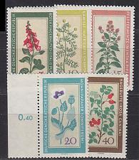 Buy GERMANY DDR [1960] MiNr 0757-61 ( **/mnh ) Blumen