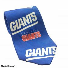 Buy Vintage Ralph Marlin New York Giants NFL Football Sports Novelty Necktie