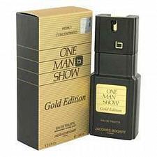 Buy One Man Show Gold Eau De Toilette Spray By Jacques Bogart