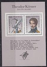 Buy GERMANY BUND [1991] MiNr 1569-70 Block 25 ( **/mnh )
