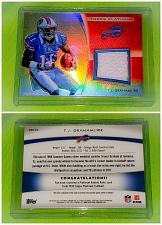 Buy NFL TJ Graham Buffalo Bills 2012 Topps Platinum Game-worn Jersey mint