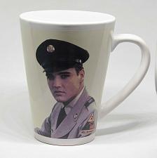 Buy VINTAGE Elvis Presley in The Army Souvenir Coffee Cup Mug HD15