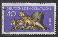 Buy GERMANY DDR [1959] MiNr 0741 ( O/used ) Tiere